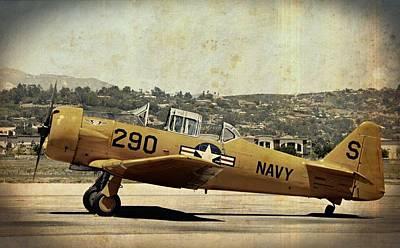 Photograph - Vintage Navy by Fraida Gutovich