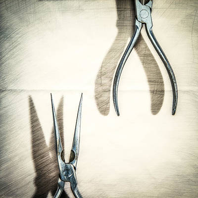 Photograph - Vintage Needle Nose Pliers by Yo Pedro