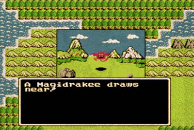 Dragon Mixed Media - Vintage Nintendo Nes Dragon Warrior Game Scene by Design Turnpike
