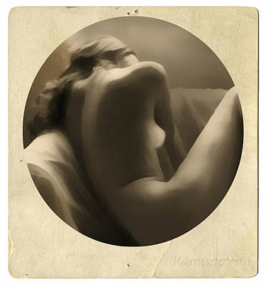 Nudity Mixed Media - Vintage Nude by Georgiana Romanovna