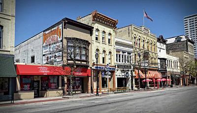 Photograph - Vintage Old World 3rd Street - Milwaukee by Doc Braham