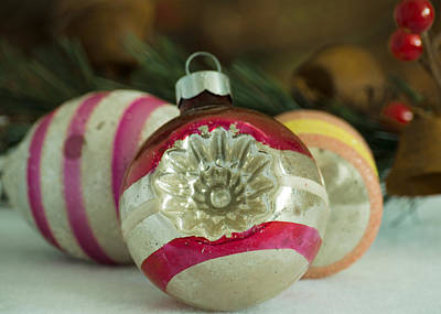 Photograph - Vintage Ornaments by Stephanie Maatta Smith