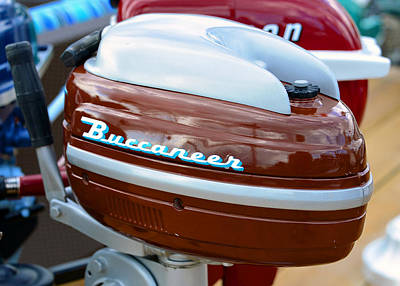 Photograph - Vintage Outboard 2 by David Lee Thompson