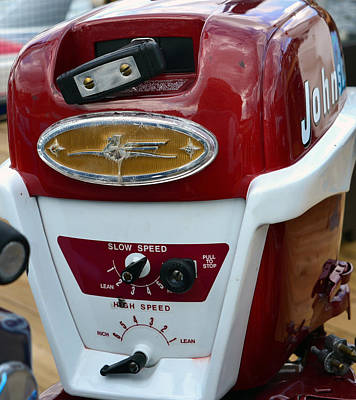 Photograph - Vintage Outboard 6 by David Lee Thompson
