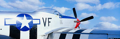 Fighter Aircraft Photograph - Vintage P51 Fighter Aircraft, Burnet by Panoramic Images