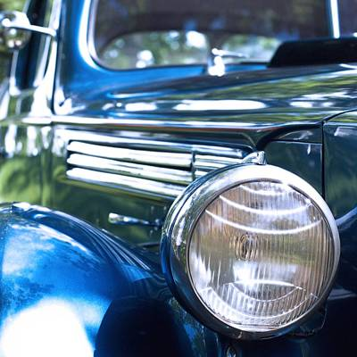 Photograph - Vintage Packard Circa 1938 by Heidi Hermes