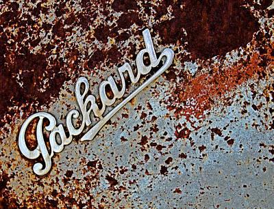 Vintage Packard Emblem Art Print