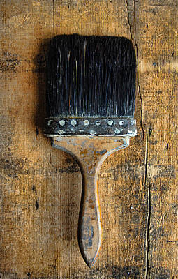 Photograph - Vintage Paint Brush by Jill Battaglia