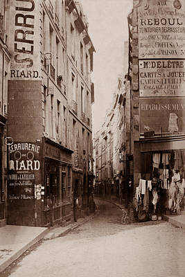 Photograph - Vintage Paris 21 by Andrew Fare