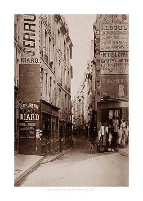 Photograph - Vintage Paris 21b by Andrew Fare