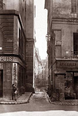 Photograph - Vintage Paris 22 by Andrew Fare