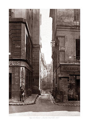 Photograph - Vintage Paris 22b by Andrew Fare