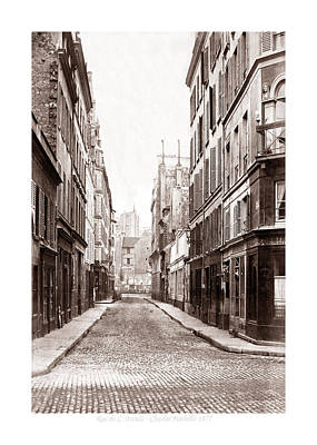 Photograph - Vintage Paris 23b by Andrew Fare