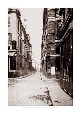 Photograph - Vintage Paris 24b by Andrew Fare