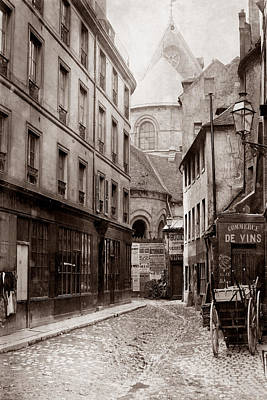 Photograph - Vintage Paris 25 by Andrew Fare