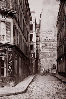 Photograph - Vintage Paris 26 by Andrew Fare