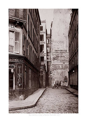Photograph - Vintage Paris 26b by Andrew Fare