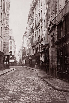 Photograph - Vintage Paris 27 by Andrew Fare