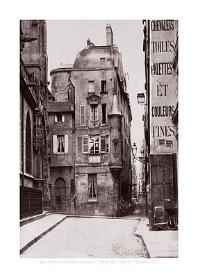 Photograph - Vintage Paris 28b by Andrew Fare