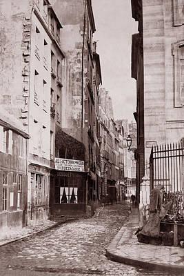 Photograph - Vintage Paris 29 by Andrew Fare