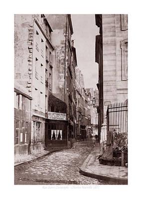 Photograph - Vintage Paris 29b by Andrew Fare