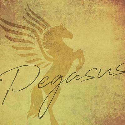 Photograph - Vintage Pegasus by Jamart Photography