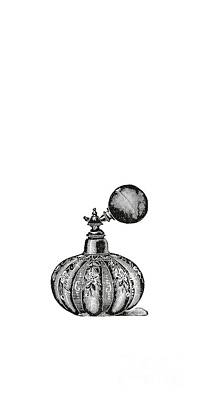 Vintage Perfume Bottle Phone Case Art Print
