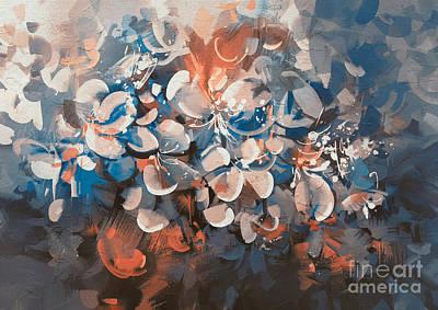 Painting - Vintage Petal by Tithi Luadthong