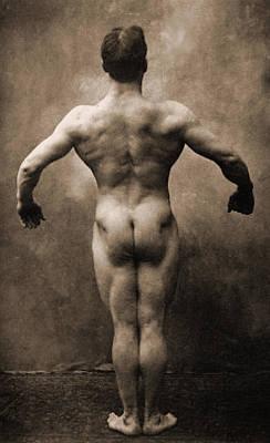Portraits Photograph - Vintage Photo Of Lionel Strongfort, 1910 by German School