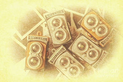 Old Objects Photograph - Vintage Photographer Film Art by Jorgo Photography - Wall Art Gallery