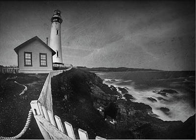 Photograph - Vintage Pigeon Point by Morgan Wright