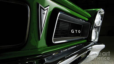 Sports Royalty-Free and Rights-Managed Images - Vintage Pontiac GTO by Doc Braham