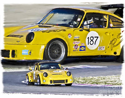 Porche Photograph - Vintage Porche by Tom Griffithe