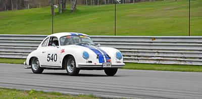 Photograph - Vintage Porsche 540 by Mike Martin