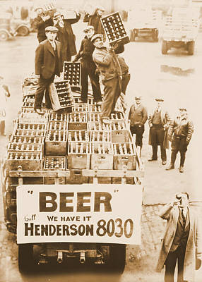 First Amendment Photograph - Vintage Prohibition Image by Dan Sproul