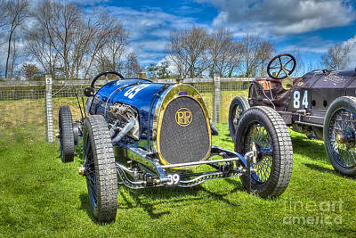 Racing Car Photograph - Vintage Racing Car - Picard-pictet by Catchavista