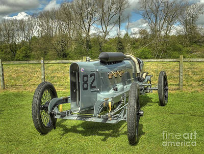 Vintage Racing Car - The 1918 Mitchell Art Print