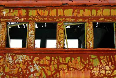 Photograph - Vintage Railcar by Suzanne Lorenz