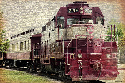 Photograph - Vintage Railroad 3 by Roberta Byram