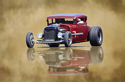 Photograph - Vintage Reflection by Steve McKinzie