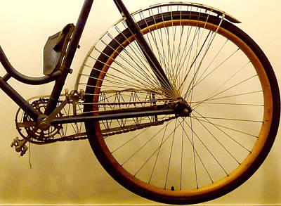 Vintage Remington Bike Art Print by Lori Seaman