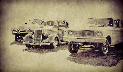 Photograph - Vintage Rides by Steve McKinzie