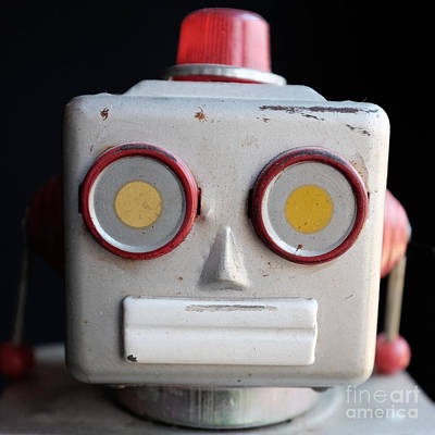 Photograph - Vintage Robot 1 Dt by Edward Fielding