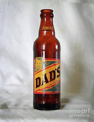 Digital Art - Vintage Root Beer Bottle by Phil Perkins