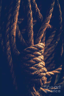 Photograph - Vintage Rope by Anna Om