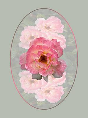 Photograph - Vintage Rose Vertical by Gill Billington