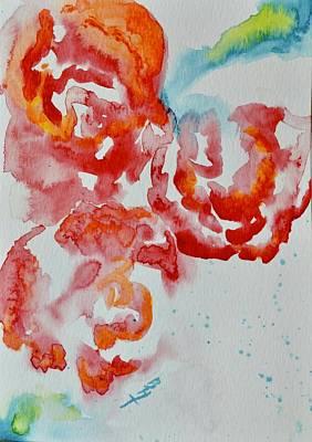 Painting - Vintage Roses IIi by Beverley Harper Tinsley
