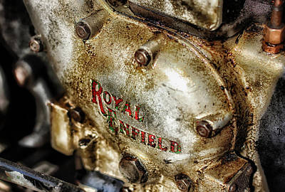 Photograph - Vintage Royal Enfield by Olaf Pictures