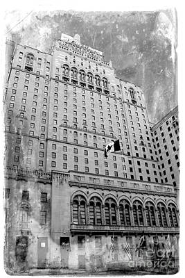 Photograph - Vintage Royal York Hotel by Nina Silver