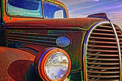 Photograph - Vintage Rust N Colors by Amanda Smith